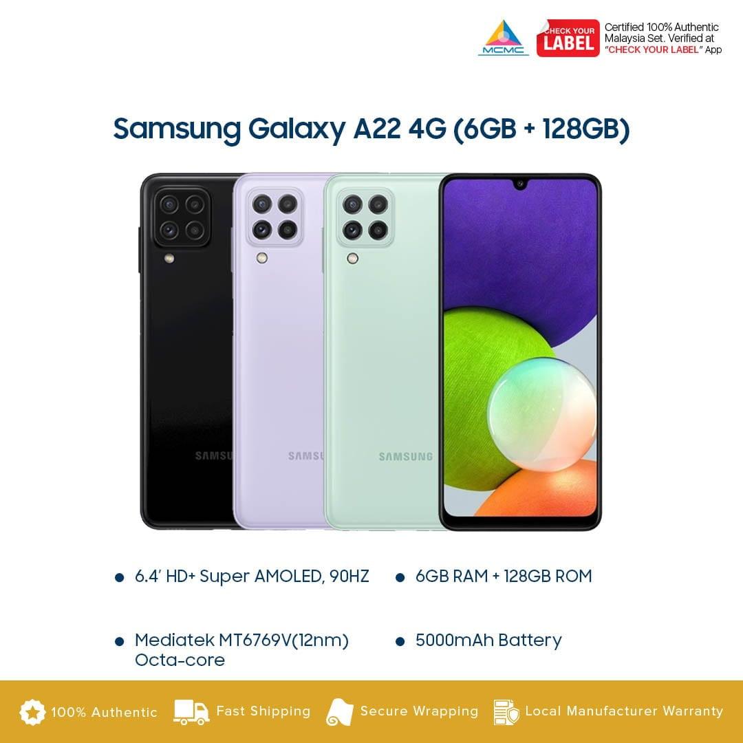Samsung Galaxy A22 4G LTE Malaysia